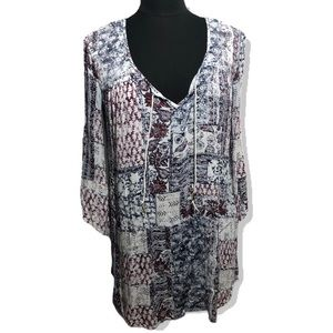 "Billabong Peasant Boho Dress or Top Sz M 31"" L"